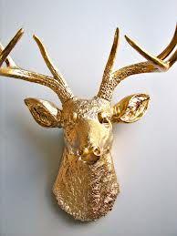 Golden deer head - Google Search