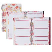 Day Runner® Floral Explosion Weekly/Monthly Academic Planner (Item # 816-201A)