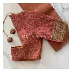 Bridal Blouse Designs, Saree Blouse, Floral Tie, Hanger, Wedding, Instagram, Fashion, Valentines Day Weddings, Moda