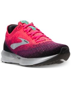 finest selection af313 21cb1 Brooks Women s Levitate 2 Running Sneakers from Finish Line - Pink 7.5  Brooks Running Shoes,