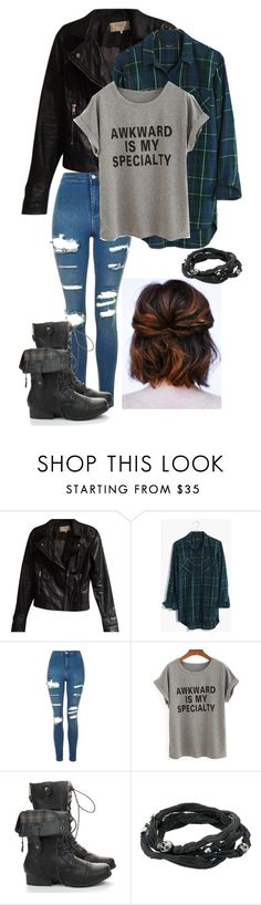 """Untitled #55"" by fangirl-in-the-us on Polyvore featuring Zara, Madewell, Topshop and King Baby Studio"