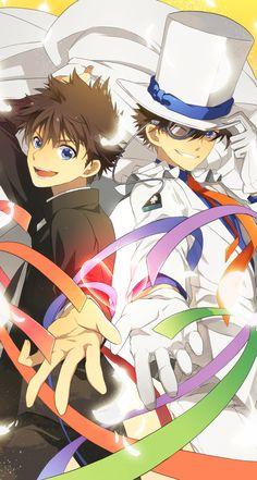 Kuroba Kaito & Kaito Kid | Detective Conan #anime