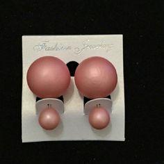 Matte Peach runway stud earring * 4 aviliable * Matte Peach runway stud earrings Jewelry Earrings