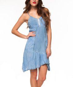 Another great find on #zulily! Blue Handkerchief Dress #zulilyfinds