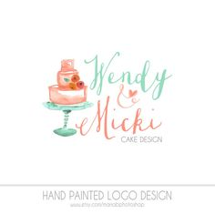 Pre Made Bakery Watermark Business Logo  by MariaBPhotoShop