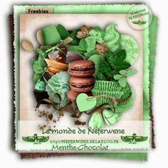 le monde de neferwene: kit Menthe-chocolat free - may 2014