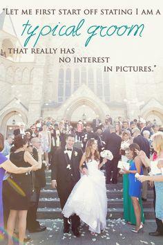 A groom's perspective on his NJ Wedding Photographer Vanessa Joy.