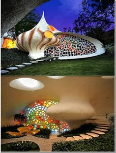 This page has some really kewl buildings. http://www.2expertsdesign.com/graphics/32-of-the-strangest-houses-in-the-world