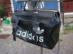 Adidas bag väska kappsäck 70 tal vintage kult unisex street på
