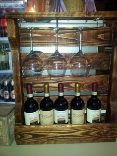 1000 images about mi bar on pinterest bar cabinets for Como hacer un bar de madera