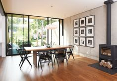 Photo: Chad Holder via Houzz | George Nelson Saucer Criss Cross Lamp