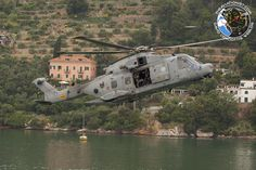 Italian Navy EH-101 support SPAG (Submarine Parachute Assistance Group) activities