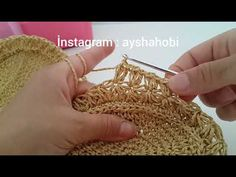 Crochet Bag Tutorials, Crochet Patterns, Textiles, Bag Making, Straw Bag, Diy And Crafts, Knit Crochet, Gold Rings, Rose Gold