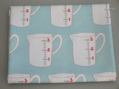 Quilting Cotton Fat Quarter Duck Egg Blue Jug Print by mabelandgeorge on Etsy https://www.etsy.com/listing/226617553/quilting-cotton-fat-quarter-duck-egg