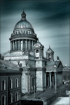 St.-Peterburg, Saint Isaac's Cathedral #russia #saintpetersburg #church