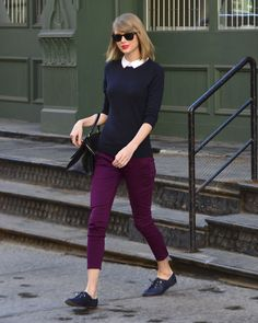 Leaving her apartment | New York | April 5 2014