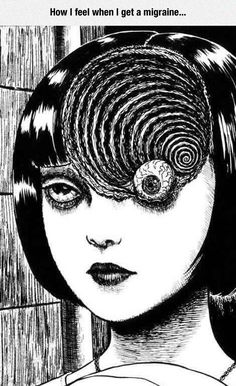 """ART WORK BY JUNJI  ITO  from  """"  UZUMAKI  """"  /  """"  SPIRAL INTO HORROR  """"  