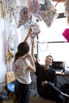 In the Studio with CONFETTISYSTEM   via opening ceremony new news blog