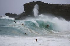 Check out these crazy waves that happened during Hurricae Iselle.