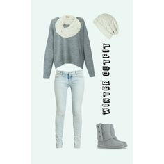 This is really cute for winter and fall! I really like this and the boots!