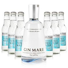 Gin & Tonic Set LX (Gin Mare + Fever Tree Mediterranean Tonic) - Gin Mare - Gin & Tonic Sets