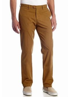 Tommy Bahama Men's Del Chino Flat Front Pants - Green - 33 X 34