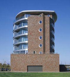Röben Klinker, Bricks | Brick-Design® | Weserloft Bremerhaven | Klinker: Architektursortierung WESTMINSTER