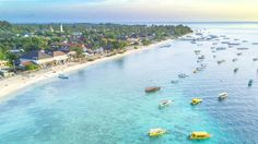 Located just of Indonesia, these three islands with famous places such as Shark Point and Manta Point  and tons of activities such as scuba diving and snorkelling, the Gili Islands...