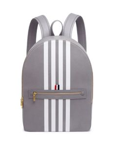 8c5a1b5cc2ae Saks Fifth Avenue Grey Backpacks Men Thom Browne Classic Leather Backpack  http://www