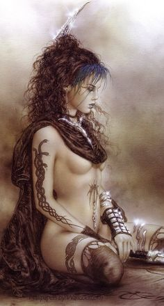 Luis Royo (cropped for detail)