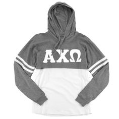 Now available Alpha Chi Omega L... Shop http://manddsororitygifts.com/products/alpha-chi-omega-hoodie-ls-sgl?utm_campaign=social_autopilot&utm_source=pin&utm_medium=pin