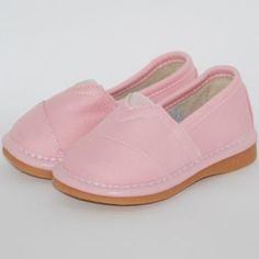 Pink Slip on Shoe Squeaky Shoes!!