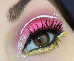 Sailor Chibimoon inspired makeup by http://www.talasia.de/2016/02/01/sailor-chibimoon-blogparade-alle-looks/