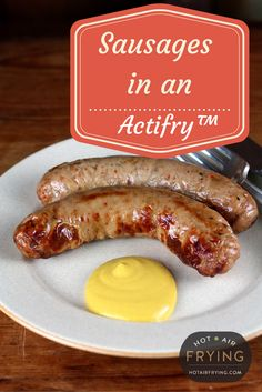Actifry, Air Frying, Air Fryer Recipes, Sausages, Carne, Stove, Salsa, Fries, Healthy