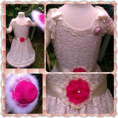 Vintage make-over on an old dress.. :)