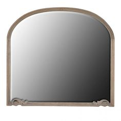 Buy the Arch Top Overmantle Mirror with free delivery from Turnbull and Thomas French Walls, French Mirror, Mirrored Furniture, Luxury Furniture, Large Oval Mirror, Floor Standing Mirror, Overmantle Mirror, Mantle Piece, Window Mirror