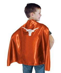 Look at this #zulilyfind! Texas Longhorns Hero Cape by Bleacher Creatures #zulilyfinds