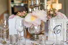 Blush and gold reception by imelda Floral Centerpieces, Wedding Centerpieces, Wedding Decorations, Table Decorations, Floral Arrangements, Table Arrangements, Centerpiece Ideas, Summer Centerpieces, Mod Wedding