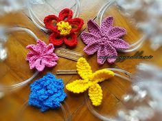 Crocheted Flowers by MPringgadhani