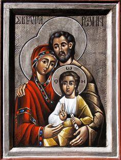 The Holy Family - Myhailo Skop 2016