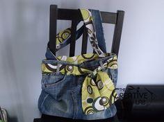 tutorial fare borsa riciclare vecchi jeans 85