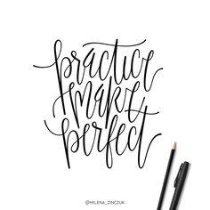 Practice make perfect ✒️✏️ #type #typo #typelove #typespire #typetopia #typoholic #typedesign #typematters #typeeverything #typeoftheday #typography #handdrawn #handwriting #handmadefont #handdrawntype #goodtype #loveletters #ilovetypography #customtype #calligram #calligraphy #picoftheday #instaart #thedailytype #dailytype #vector #modernscript #moderncalligraphy #instadaily #artoftype