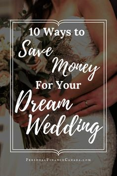 You can save THOUSANDS of dollars on your wedding by simply making a few small adjustments #finance #financialplanning #wedding #weddingtips #weddingplanning #money #moneysavingtips #financialfreedom