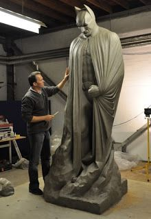 Batman sculpture from the Dark Knight Rises. Would look great in my garden.