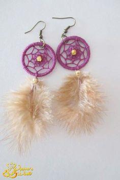 #earrings #dreamcatcher