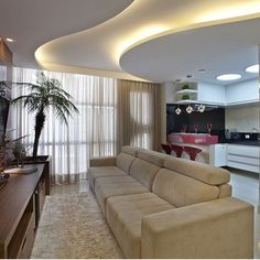 New ideas for false ceiling designs for living room and hall with best ceiling lighting ideas, how to choose suitable false ceiling design 2019 for your living room or halls, living room ceiling designs 2019 for any interior living room style Gypsum Ceiling Design, House Ceiling Design, Ceiling Design Living Room, Bedroom False Ceiling Design, Ceiling Light Design, Home Ceiling, Bedroom Ceiling, Ceiling Decor, Ceiling Lighting