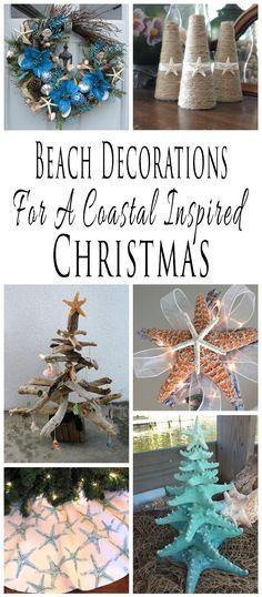 Coastal Christmas Decor Handy Smart Stuff  Ideas ~ Pinterest - coastal christmas decorations