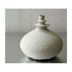 NEW One Large Double Flanged Rotund Vase in Beach by sarapaloma, $150.00