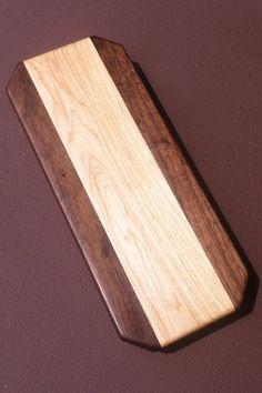 Small cutting board | maple and black walnut | Klipnocky Wood Shop