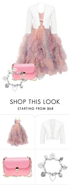 """""""gods girl - Little Sista Crafted"""" by fashionforchrist ❤ liked on Polyvore featuring Marchesa, Valentino and ChloBo"""